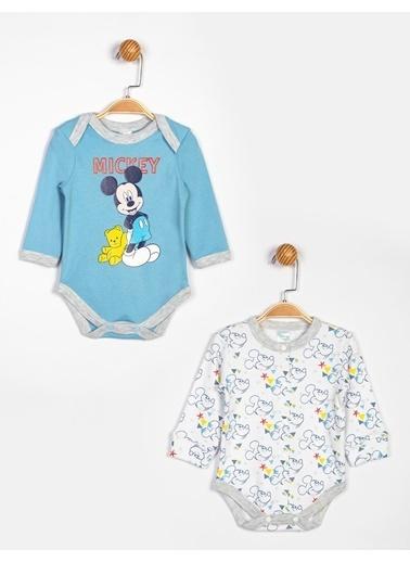 Mickey Mouse Body Mavi
